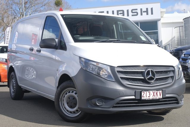 Used Mercedes-Benz Vito 447 111CDI SWB, 2016 Mercedes-Benz Vito 447 111CDI SWB White 6 Speed Manual Van