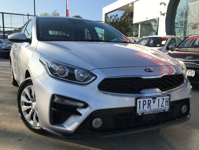 Demo Kia Cerato BD MY19 S, 2019 Kia Cerato BD MY19 S Silky Silver 6 Speed Sports Automatic Hatchback