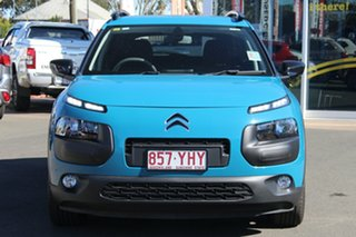 2017 Citroen C4 Cactus E3 MY18 Exclusive Blue 6 Speed Sports Automatic Wagon