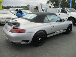 1998 Porsche 911 Carrera 996 Silver Convertible