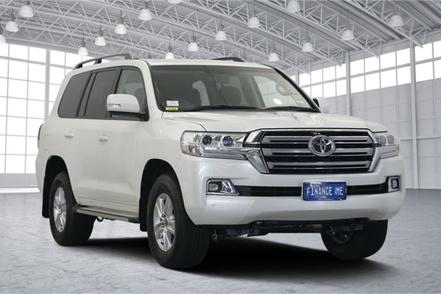 Used Toyota Landcruiser VDJ200R GXL, 2019 Toyota Landcruiser VDJ200R GXL Pearl White 6 Speed Sports Automatic Wagon