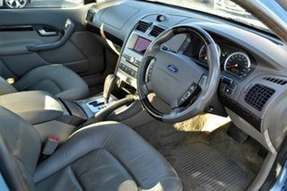 2005 Ford Fairmont BA MkII Ghia Blue 4 Speed Auto Seq Sportshift Sedan