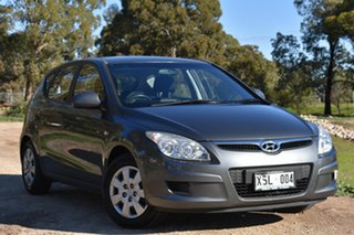 2007 Hyundai i30 FD SX Steel Grey 4 Speed Automatic Hatchback.