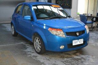 2008 Proton Savvy BT S II Blue 5 Speed Manual Sedan.