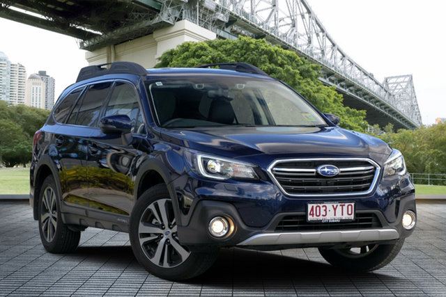 Demo Subaru Outback B6A MY18 2.5i CVT AWD Premium, 2018 Subaru Outback B6A MY18 2.5i CVT AWD Premium Dark Blue 7 Speed Constant Variable Wagon