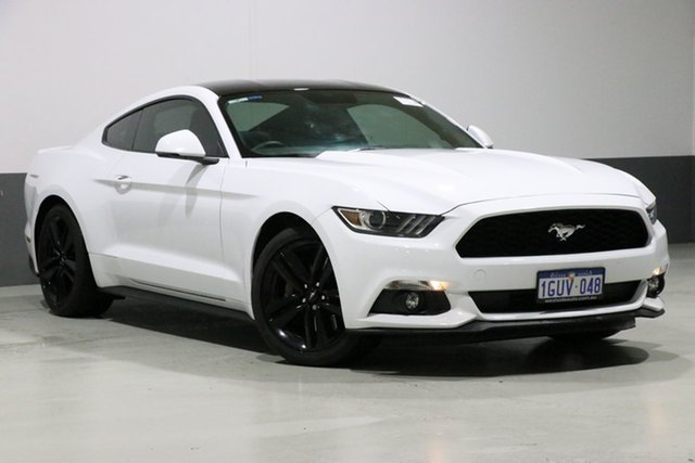 Used Ford Mustang FM Fastback 2.3 GTDi, 2016 Ford Mustang FM Fastback 2.3 GTDi White 6 Speed Automatic Coupe