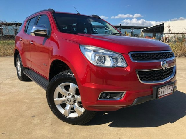 Used Holden Colorado 7 RG MY13 LTZ, 2013 Holden Colorado 7 RG MY13 LTZ Maroon 6 Speed Sports Automatic Wagon