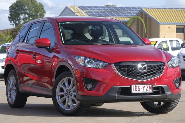 Used Mazda CX-5 KE1031 MY14 Grand Touring SKYACTIV-Drive AWD, 2014 Mazda CX-5 KE1031 MY14 Grand Touring SKYACTIV-Drive AWD Soul Red 6 Speed Sports Automatic Wagon