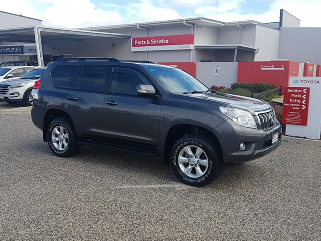 Used Toyota Landcruiser Prado KDJ150R 11 Upgrade Altitude (4x4), 2013 Toyota Landcruiser Prado KDJ150R 11 Upgrade Altitude (4x4) Graphite 5 Speed Sequential Auto