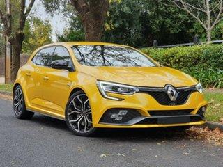 2018 Renault Megane BFB R.S. 280 EDC Liquid Yellow 6 Speed Sports Automatic Dual Clutch Hatchback.