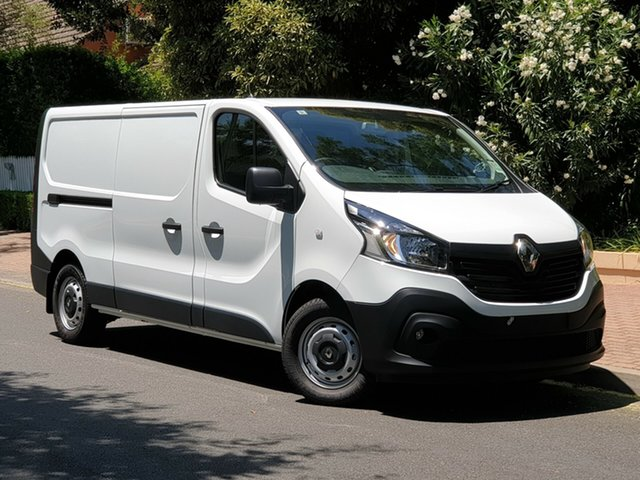 Demo Renault Trafic X82 103KW Low Roof LWB, 2019 Renault Trafic X82 103KW Low Roof LWB Glacier White 6 Speed Manual Van