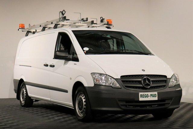 Used Mercedes-Benz Vito 639 MY13 113CDI SWB, 2013 Mercedes-Benz Vito 639 MY13 113CDI SWB White 5 Speed Automatic Van