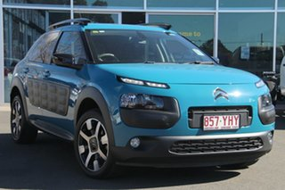 2017 Citroen C4 Cactus E3 MY18 Exclusive Blue 6 Speed Sports Automatic Wagon.