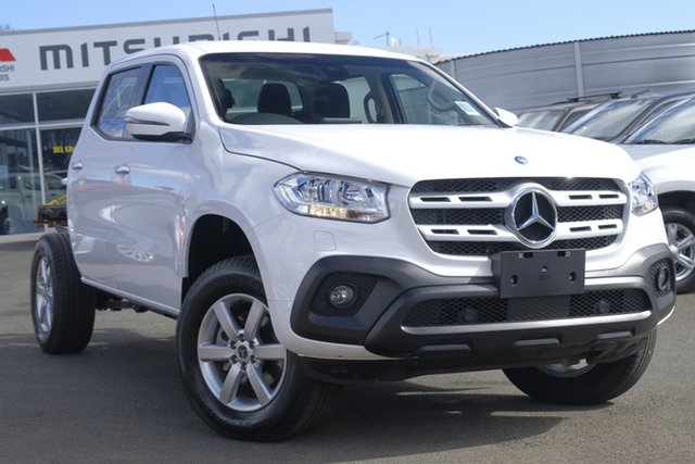 Used Mercedes-Benz X-Class 470 X250d 4MATIC Progressive, 2018 Mercedes-Benz X-Class 470 X250d 4MATIC Progressive White 7 Speed Sports Automatic Cab Chassis