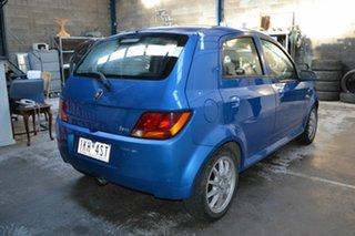 2008 Proton Savvy BT S II Blue 5 Speed Manual Sedan