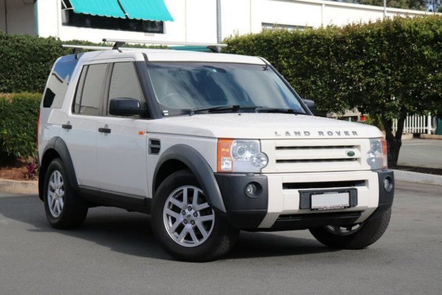 Used Land Rover Discovery 3 Series 3 08MY SE, 2008 Land Rover Discovery 3 Series 3 08MY SE White 6 Speed Sports Automatic Wagon