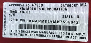 2018 Kia Sportage QL MY18 AO Edition 2WD Fiery Red 6 Speed Sports Automatic Wagon