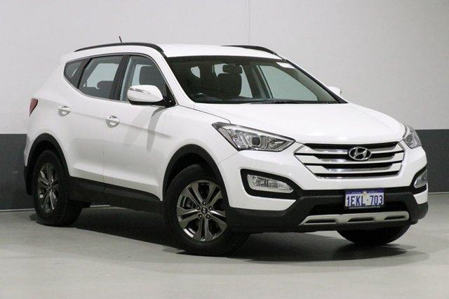 Used Hyundai Santa Fe DM Active CRDi (4x4), 2014 Hyundai Santa Fe DM Active CRDi (4x4) White 6 Speed Automatic Wagon
