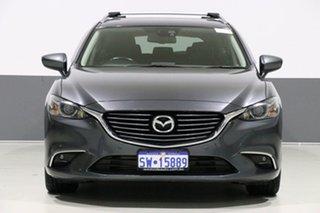 2015 Mazda 6 6C MY15 Touring Grey 6 Speed Automatic Wagon.