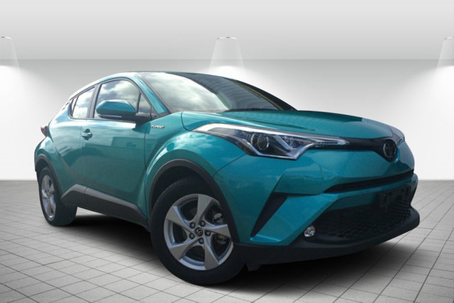 Used Toyota C-HR NGX10R S-CVT 2WD, 2018 Toyota C-HR NGX10R S-CVT 2WD Green 7 Speed Constant Variable Wagon