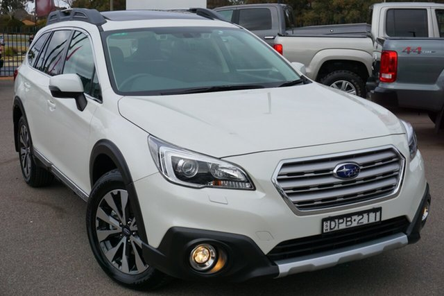 Used Subaru Outback B6A MY18 3.6R CVT AWD, 2017 Subaru Outback B6A MY18 3.6R CVT AWD White 6 Speed Constant Variable Wagon
