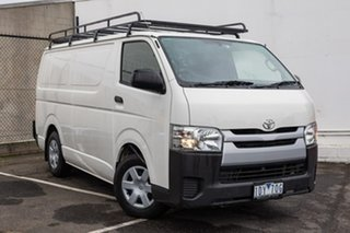 2015 Toyota HiAce KDH201R LWB White 5 Speed Manual Van.
