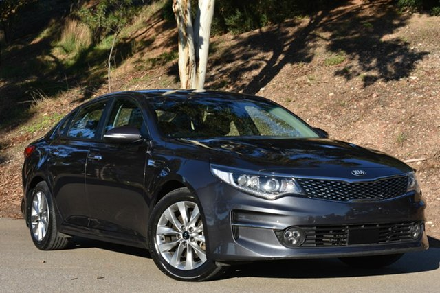 Used Kia Optima JF MY16 SI, 2016 Kia Optima JF MY16 SI Grey 6 Speed Sports Automatic Sedan