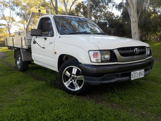 Used Toyota Hilux RZN149R MY02 4x2, 2002 Toyota Hilux RZN149R MY02 4x2 5 Speed Manual Cab Chassis