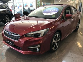 2018 Subaru Impreza G5 MY19 2.0i-S CVT AWD Venetian Red 7 Speed Constant Variable Sedan.