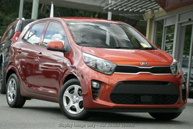 Used Kia Picanto JA MY19 S, 2019 Kia Picanto JA MY19 S Orange 4 Speed Automatic Hatchback