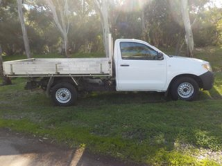 2005 Toyota Hilux TGN16R MY05 Workmate 4x2 5 Speed Manual Cab Chassis.