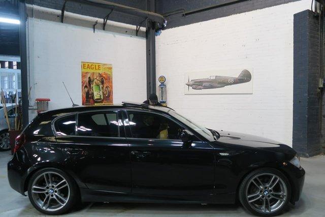 Used BMW 118i E87 MY11 , 2010 BMW 118i E87 MY11 Black 6 Speed Automatic Hatchback