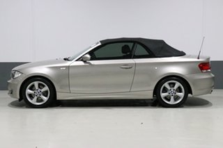 2009 BMW 120i E88 MY09 Silver 6 Speed Manual Convertible