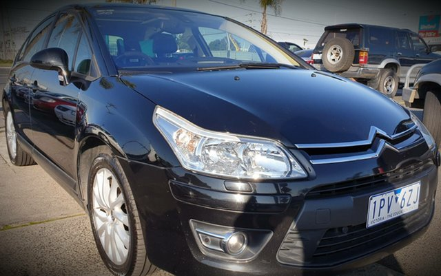 Used Citroen C4 MY09 Exclusive HDi, 2009 Citroen C4 MY09 Exclusive HDi Black 6 Speed Automatic Hatchback