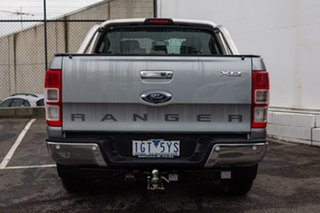 2016 Ford Ranger PX MkII XLT Double Cab Silver 6 Speed Manual Utility