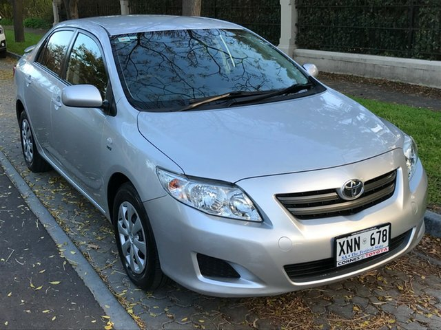 Used Toyota Corolla ZZE122R 5Y Ascent, 2007 Toyota Corolla ZZE122R 5Y Ascent Silver 4 Speed Automatic Sedan