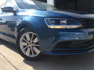 2016 Volkswagen Jetta 1B MY17 118TSI DSG Trendline Blue 7 Speed Sports Automatic Dual Clutch Sedan.