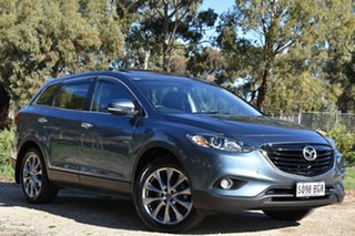 2015 Mazda CX-9 TB10A5 Luxury Activematic Blue 6 Speed Sports Automatic Wagon.
