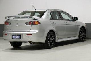 2016 Mitsubishi Lancer CF ES Sport Silver 6 Speed CVT Auto Sequential Sedan