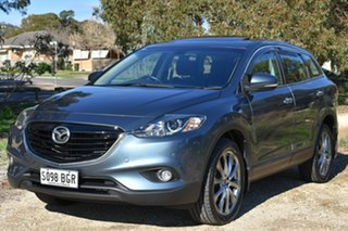 2015 Mazda CX-9 TB10A5 Luxury Activematic Blue 6 Speed Sports Automatic Wagon