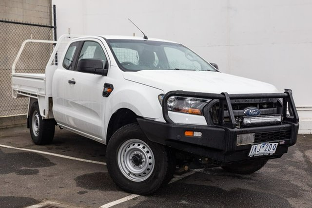 Used Ford Ranger PX MkII 2018.00MY XL Super Cab, 2017 Ford Ranger PX MkII 2018.00MY XL Super Cab White 6 Speed Manual Utility