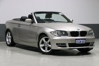 2009 BMW 120i E88 MY09 Silver 6 Speed Manual Convertible.