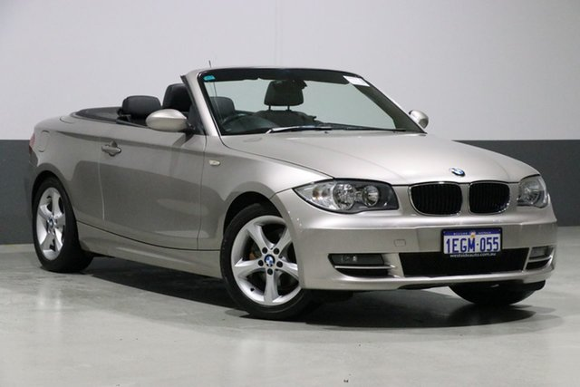 Used BMW 120i E88 MY09 , 2009 BMW 120i E88 MY09 Silver 6 Speed Manual Convertible