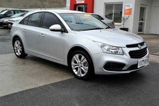 2015 Holden Cruze JH MY15 Equipe Silver 6 Speed Automatic Sedan.