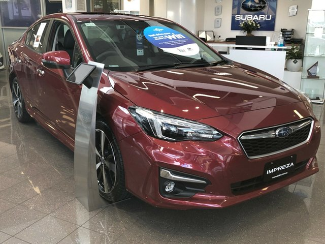 New Subaru Impreza G5 MY19 2.0i-S CVT AWD, 2018 Subaru Impreza G5 MY19 2.0i-S CVT AWD Venetian Red 7 Speed Constant Variable Sedan