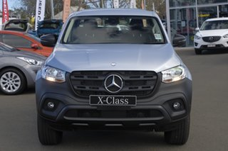 2018 Mercedes-Benz X-Class 470 X250d 4MATIC Pure Silver 6 Speed Manual Cab Chassis