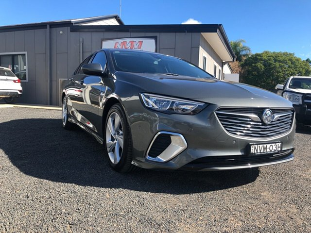 Demo Holden Commodore ZB RS, 2017 Holden Commodore ZB RS Cosmic Grey 9 Speed Automatic Liftback