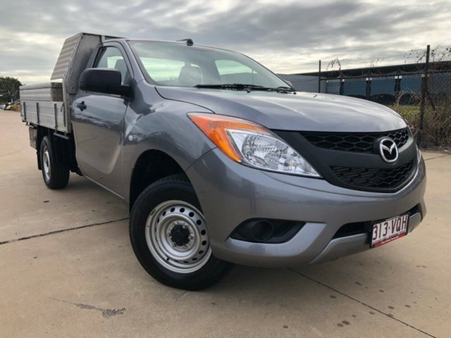 Used Mazda BT-50 UP0YD1 XT 4x2, 2015 Mazda BT-50 UP0YD1 XT 4x2 Silver 6 Speed Manual Cab Chassis