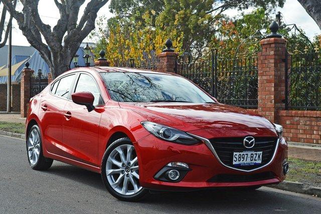 Used Mazda 3 BM5238 SP25 SKYACTIV-Drive GT, 2015 Mazda 3 BM5238 SP25 SKYACTIV-Drive GT Red 6 Speed Sports Automatic Sedan