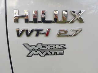 2005 Toyota Hilux TGN16R MY05 Workmate 4x2 5 Speed Manual Cab Chassis